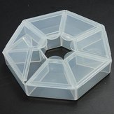 Clear Beads Display Organiser Storage Containers Case