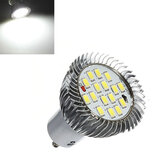 Bombillas Lámparas GU10 7W 640LM Pure White 16 SMD 5630 LED 85-265V