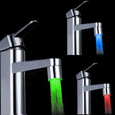 Color Changing LED Faucet Color Changing Water Tap Light Silver