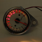 Motorcycle Mechanic Tachometer Gauge 16000RPM Scooter Analog