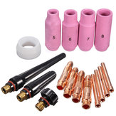 16pcs TIG Accessories KIT TIG Welding Torch WP SR 17 18 26 Series