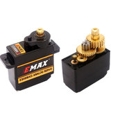 EMAX ES08MA II 12g Mini Metal Gear Analog Servo untuk Model RC