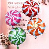 18インチロリポップキャンディー渦巻き誕生日パーティーデコレーションバルーン