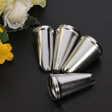 4PCS Stainless Steel Cake Nozzles Tools