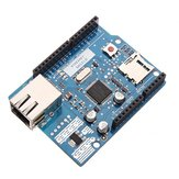 Ethernet Shield W5100 R3 Support PoE For UNO Mega 2560 Nano Geekcreit for Arduino - products that work with official Arduino boards