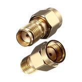 DANIU SMA Jack femelle à RP-SMA Jack mâle Connecteur adaptateur coaxial RF