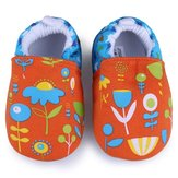 Baby Cartoon Flower Prewalker Shoes Infant Soft Learning Footwear