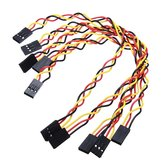 25pcs 3 Pin 20cm 2.54mm Jumper Cable DuPont Wire For  Female To Female