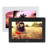10 tommer HD TFT-LCD Digital Photo Movies Frame MP4 afspiller alarmur