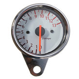 Universal Mechanica 13000RPM Tachometer Gauge Motorcycle