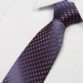 Męskie krawatowe żakardowe kropki typu Arrow