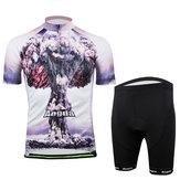Велосипед Велоспорт костюм носить мужчинам рубашки и шорты атомной
