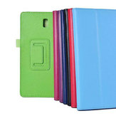 Lichee Pattern Folding Stand PU Leather Case For Samsung Tab 8.4 T700