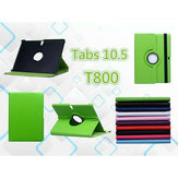 Rotating Stand PU Leather Case Cover For Samsung Tab 10.5 T800