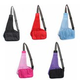 L Single-shoulder Pet Puppy Bag Carrier Tote Breathable Fabric