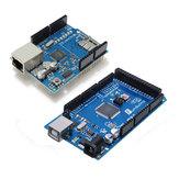 Ethernet Shield W5100 Z Mega 2560 Geekcreit dla Arduino - produkty współpracujące z oficjalnymi tablicami Arduino