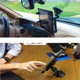 360 Rotating Car Wind Shield Suporte de suporte de mesa para iPad