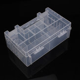 Translucent Hard Plastic Case Holder Storage Box for AA AAA C battery