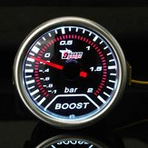 2 Inch Universal Car Red Led Boost Auto Gauge -1 to 2 Bar Meter