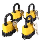 4本の同じキーで40ミリメートルキーと同様の防水ゲートドアパドロック