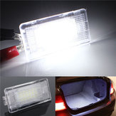 Footwell Luggage Trunk Boot Glove Box LED Light for BMW E36 E39 E46