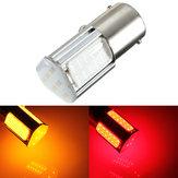 1156 g18 ba15s 4 s/n LED tour arrière voiture légère ampoule rouge jaune