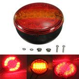 Universal LED combinação traseira parada cauda luz indicadora rodada