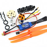 XXD 2212 Motor + ZTW AL30A Brushless ESC + Set Propeller