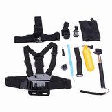 12 In 1 Chest Belt Head Strap Head Strap J-Hook BucklE-mount Kits For Gopro Hero