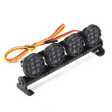 AUSTAR LED Light Aluminum Alloy Frame For CC01/D90/SCX10/4WD RC Car Parts