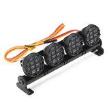 AUSTAR LED Licht Aluminium Rahmen Für CC01/D90/SCX10/4WD RC Auto