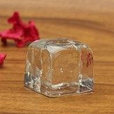 2.3 سنتيمتر التصوير الدعائم هندسية محاكاة الجليد الحبوب الجليد الاكريليك الجليد
