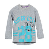 2015 New Little Maven Lovely Number Baby Children Boy Cotton Long Sleeve Top