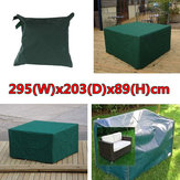 295x203x89cm Waterproof Garden Outdoor Furniture Dust Cover Table Shelter