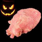 Halloween coração adereços horríveis halloween brinquedos assustadores decoração