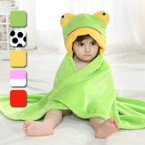 Cute Animal Cartoon Baby Infant Wrap Parisarc Soft Franela Manta Edredón Albornoz