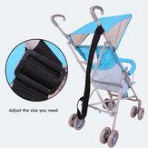Bambino piegante infantile passeggino carrozzina tracolla cintura di sicurezza di sicurezza regolabile