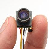 600TVL 1/4 1.8mm CMOS FPV 170 Grados de Amplia Angular Cámara de Lente PAL/NTSC 3.7-5V