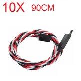 Amass 60 magos, 90 cm-es lekapcsolásgátló szervo hosszabbító kábel a Futaba számára