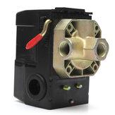 Luftkompressordruck schaltet Kontrollklappe 4 Häfen 90-120psi 26 Ampere 240vac