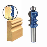 Drillpro RB25 1/2 pollici Shank Bit Router carburo legno Cutter Incisione Taglio