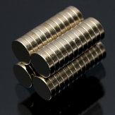 50st N35 6x1.5mm Sterke Ronde Cilinder Magneten Zeldzame Magneten van de Neodymium van de Aarde