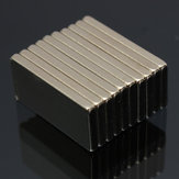 10pcs N52 20x10x2mm Block Magnets Zeldzame Earth Neodymium Magneten