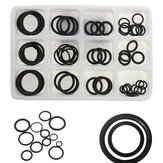 50pcs Rubber O Ring Seal Plumbing Garage Assorted Set Hydraulic Plumbing Gasket Seals