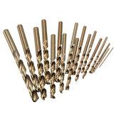 Punta di Trapano Professionale da 1.0mm a 8.0mm HSS-Co Cobalt Vari Formati per Legno me<x>tallo Plastico