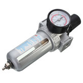 SFR200 Pneumatic Air Filter Regulator Gas Source Treatment Pressure Gauge for Air Compressor