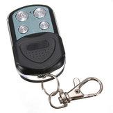 Controle remoto chaveiro clonagem 433.92MHz 4 Botão de porta portão de garagem eléctrico