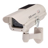 2300 Zonne-energie Dummy Decoy Fake Security Simulatie Camera Surveillance Knipperende LED