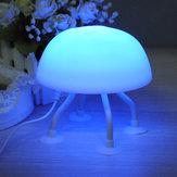 Bricolaje lámpara de escritorio lámpara de medusas LED la pequeña luz de la noche
