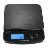 Envío digital postal de paquete de 25 kg 55 lb pesaje básculas electrónicas LCD